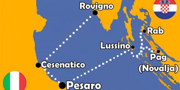 Traghetto da Cesenatico per la Croazia