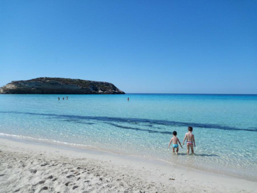 Lampedusa, Spiaggia dei Conigli