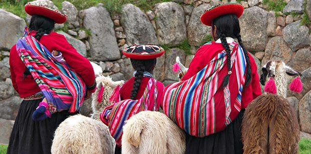 Tipici abiti peruviani