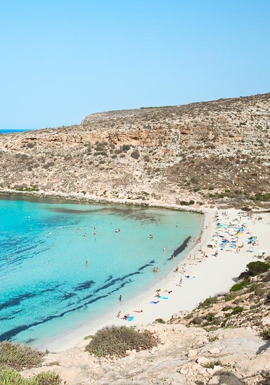 Vacanze a Lampedusa - Spiaggia dei Conigli