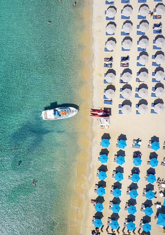 Spiaggia di Ornos - Mykonos Mar Egeo