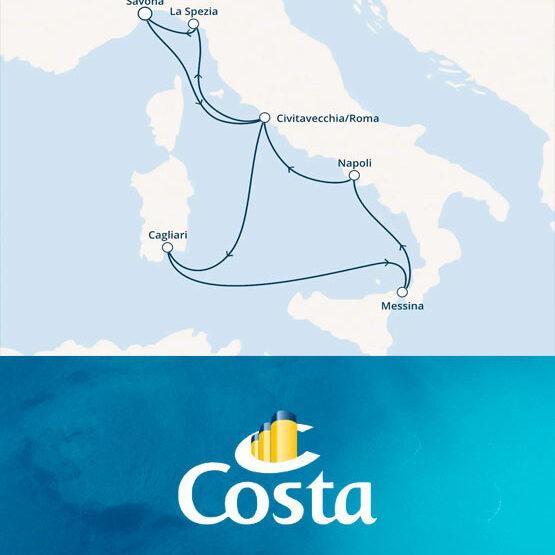 Crociera Mediterraneo Costa Smeralda da Savona
